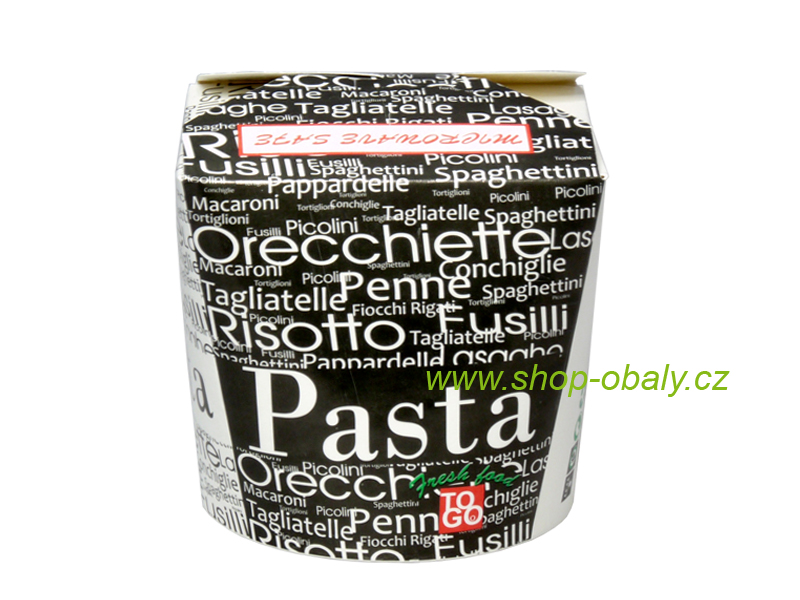Box na nudle 26oz 750ml Pasta