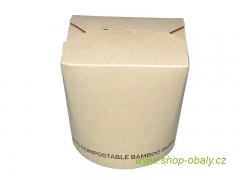 Box na nudle BIO BAMBOO 32oz  900ml, 100% compostable