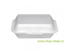 Burger box 185x145mm bílý
