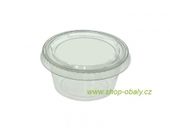 Kelímek na dressing PLA 2oz / 60ml - 100% compostable