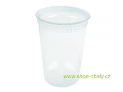 Kelímek PLA 500/600ml 20oz 92mm - 100% compostable GREENWARE