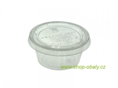 Kelímek na dressing PLA 2oz / 60ml - 100% compostable GREENWARE